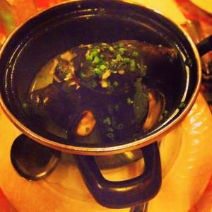 Bistro du Coin Mussel Dish
